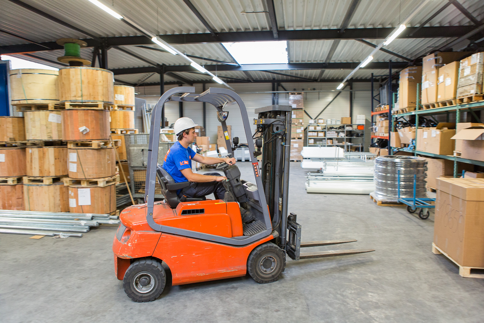 Ever wanted to drive a forklift?